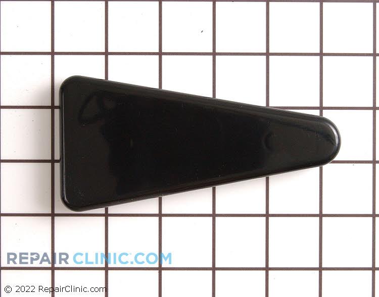 Black hinge cover