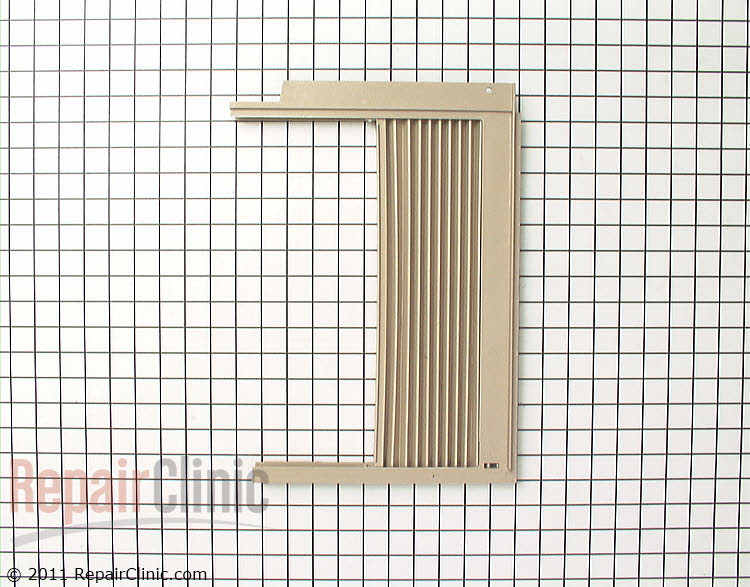 Air Conditioner Window Side Curtain And Frame Wj72x22