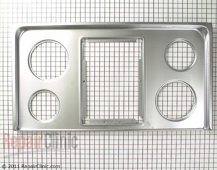 Metal Cooktop 5303293761 Alternate Product View