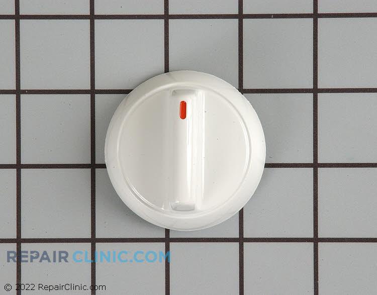 Knob, burner (white)