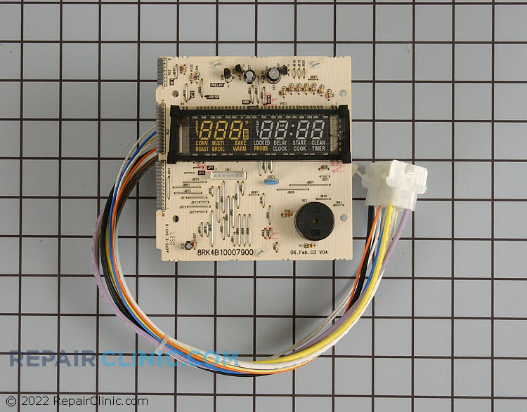 Oven Control Board WB27T10598 Alternate Product View