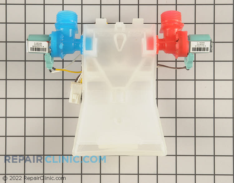Water Inlet Valve WPW10140917 Alternate Product View