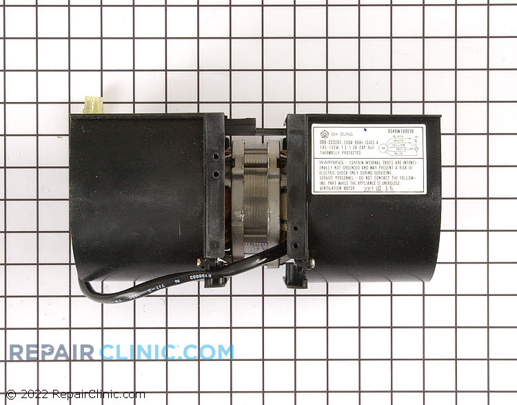 Exhaust Fan Motor 815097 Alternate Product View