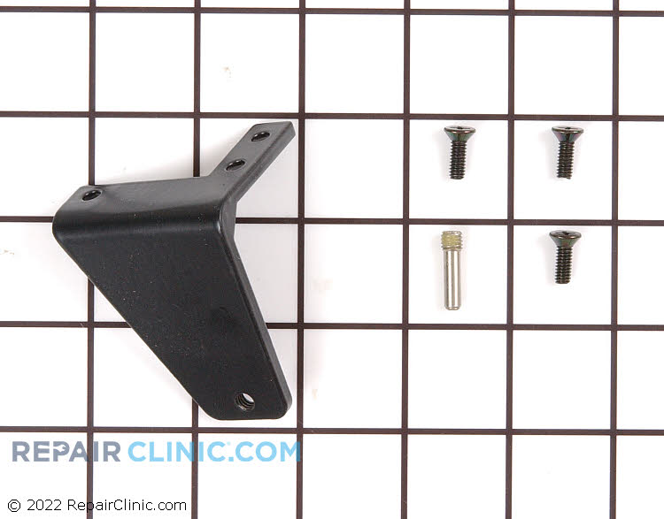 Top Hinge 11898-S-BLK Alternate Product View