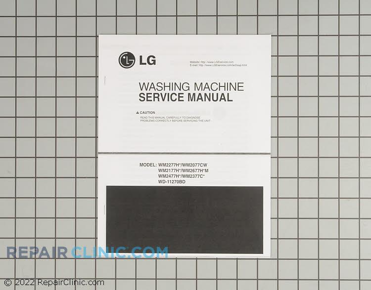 Repair Manual 3828ER3018Y Alternate Product View