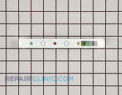 User Control and Display Board - Part # 890519 Mfg Part # 216695800