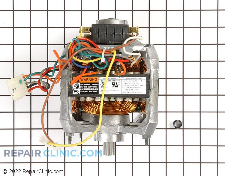 Drive Motor WC26X5022       Alternate Product View