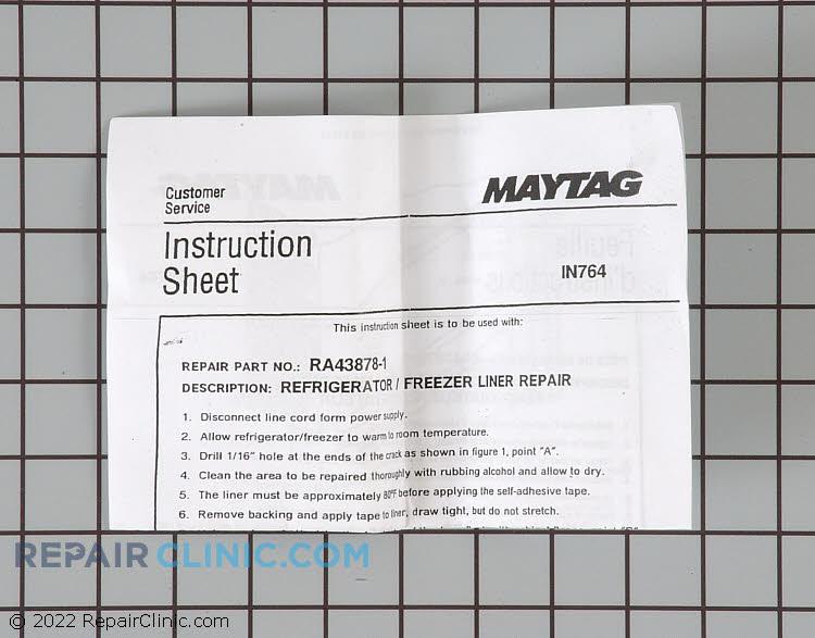 Liner Repair Kit RA43878-1 Alternate Product View