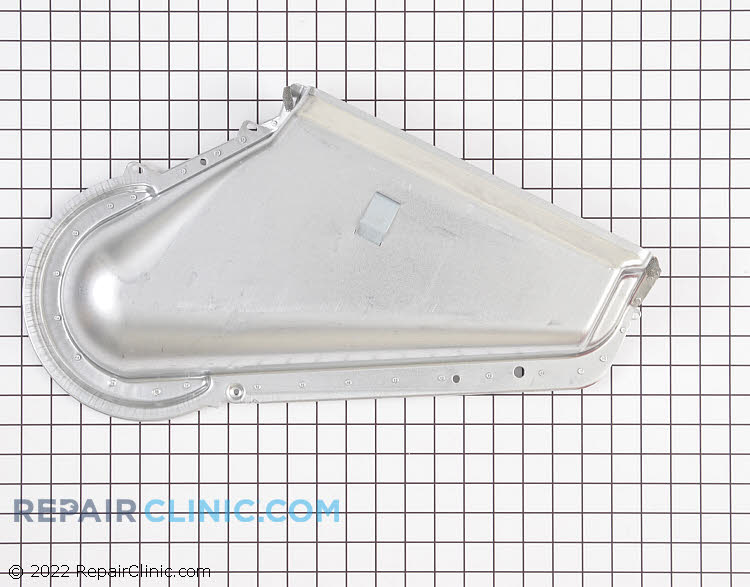 Exhaust Duct WPW10128606 Alternate Product View