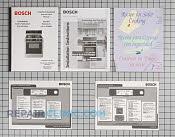 Manual - Part # 1107674 Mfg Part # 00494546