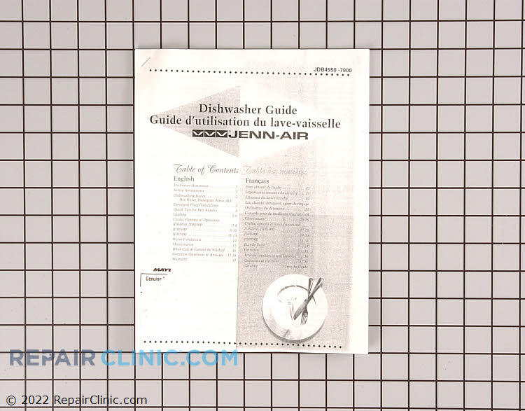 Manuals, Care Guides & Literature 99001966 Alternate Product View