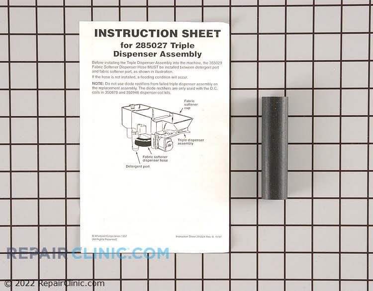 Detergent Dispenser 285027 Alternate Product View