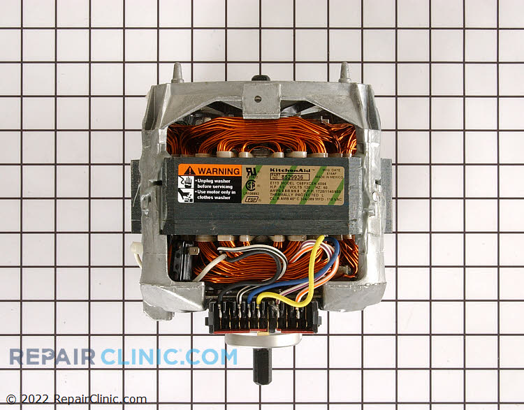 Drive Motor WP8529936 Alternate Product View