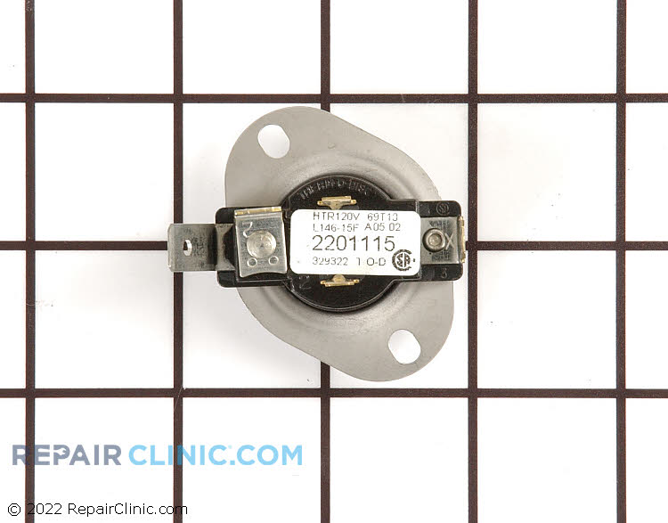 Cycling Thermostat WP37001136 Alternate Product View