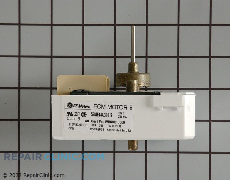 Evaporator fan motor wr60x10009 for Ge refrigerator evaporator fan motor problems