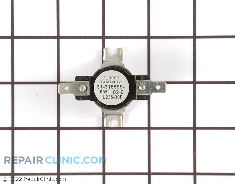 High Limit Thermostat Y0316699 Alternate Product View
