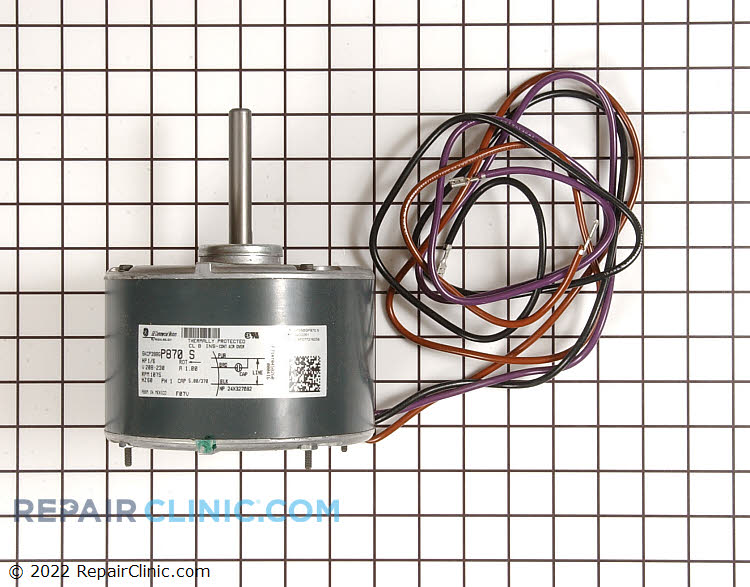 Condenser Fan Motor B13400251S Alternate Product View
