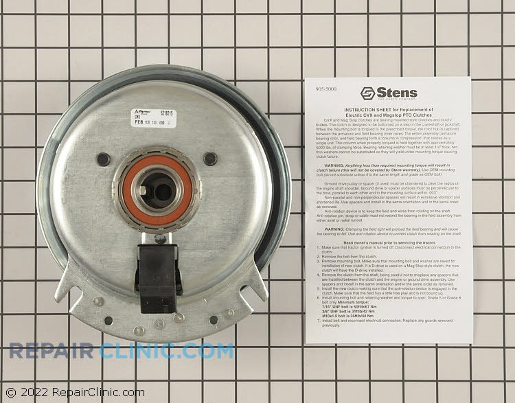 PTO Clutch 255-560 Alternate Product View