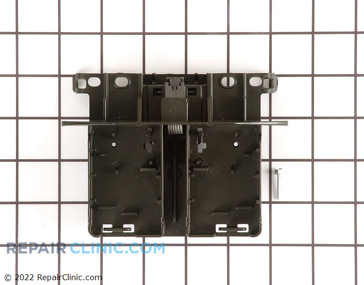 Door latch. The manufacturer specifies that a new strike is required with this latch.