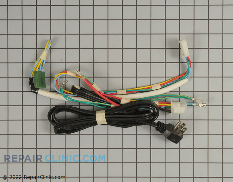 Power cord with main wiring harness