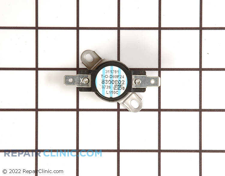 Thermal Fuse WP8300802 Alternate Product View