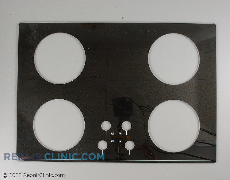 "Glass top 30"" black 0304851         Alternate Product View"