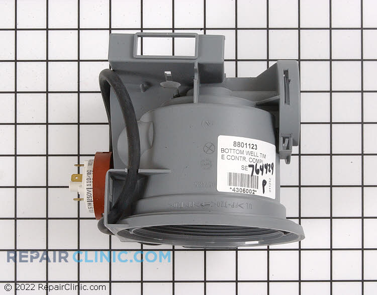 Pump housing with pressure switch (05/06 series)