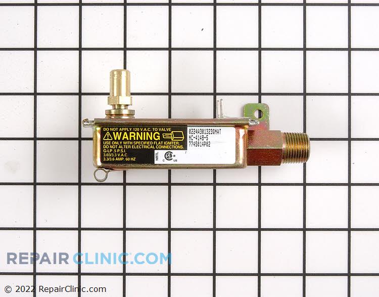 Oven safety valve