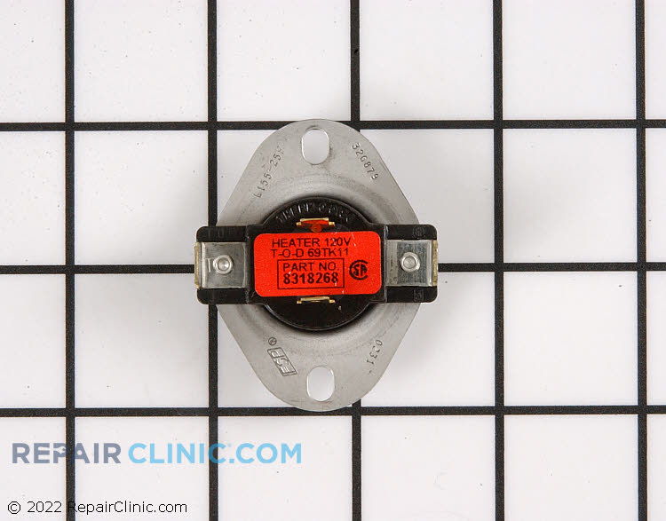 Cycling thermostat, with internal-bias heater L155-25F
