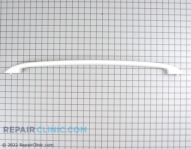 Oven door handle, white