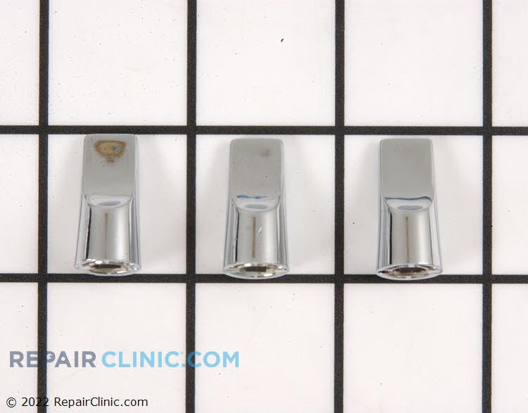 Clock knob kit , (3) chrome