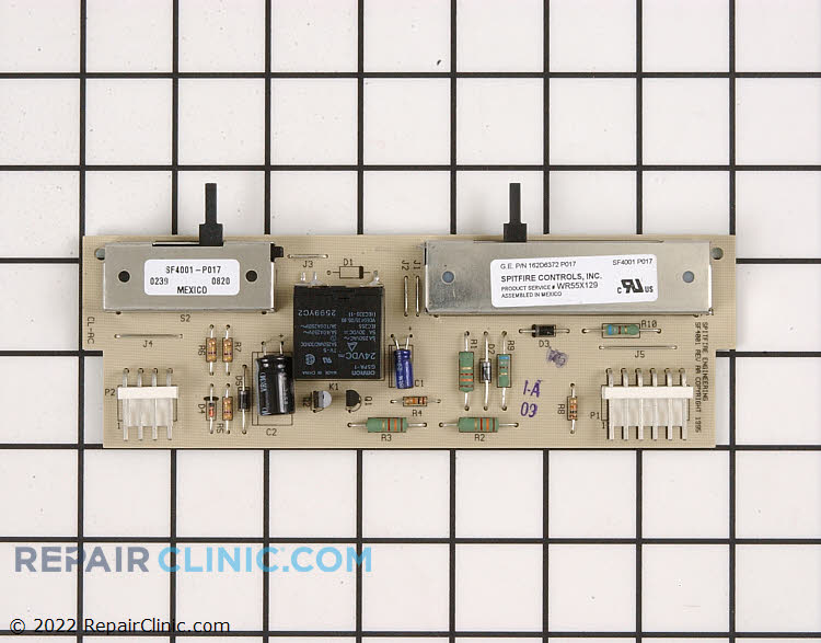Dispenser Control Board WR55X129 Alternate Product View