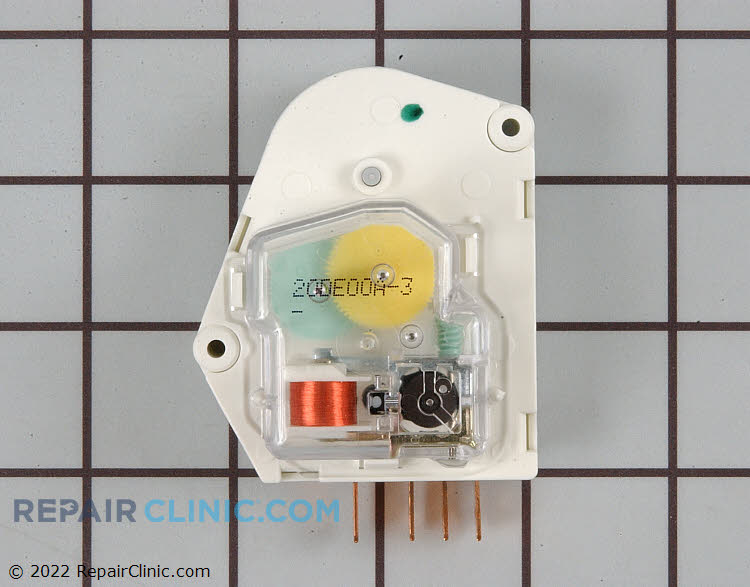 Defrost Timer WP68233 3 00814545 defrost timer wp68233 3 repairclinic com double door refrigerator wiring diagram at cos-gaming.co
