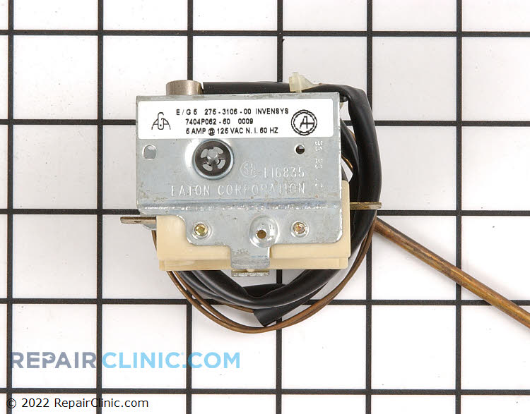 Temperature Control Thermostat 12400034 Alternate Product View