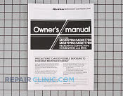 Owner's Manual - Part # 948425 Mfg Part # A00034210AQ