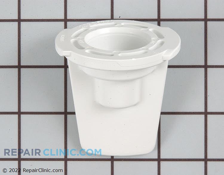 Cap, water filter bypass