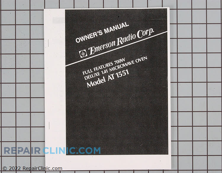 Owner's Manual 4B71264A        Alternate Product View