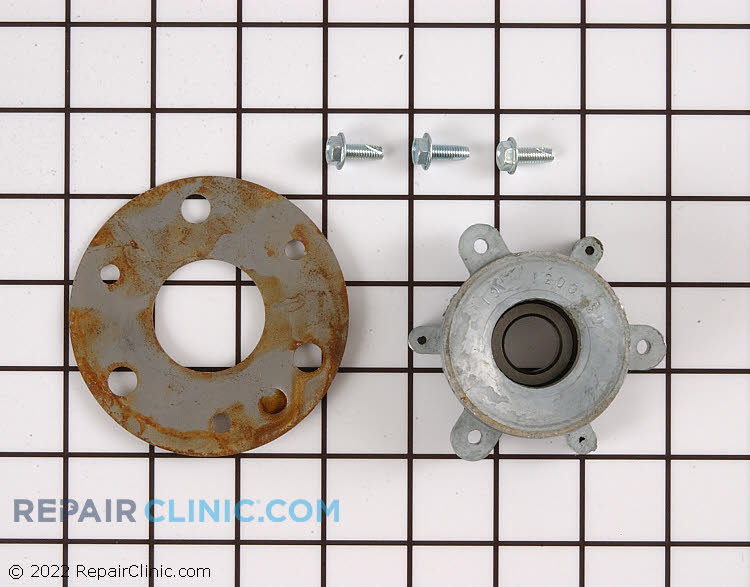 Blower hub bearing kit with bolts and washer