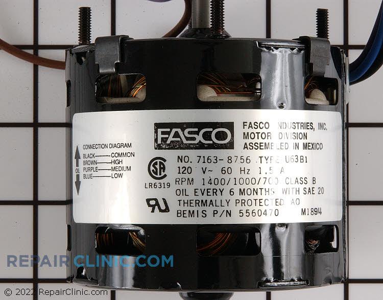 Fan Motor 5560470 Alternate Product View