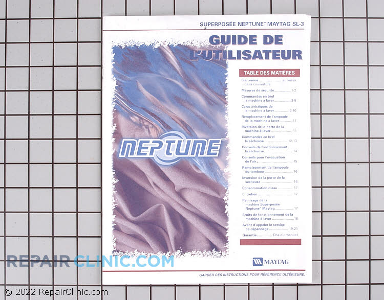 Manuals, Care Guides & Literature 33002448        Alternate Product View