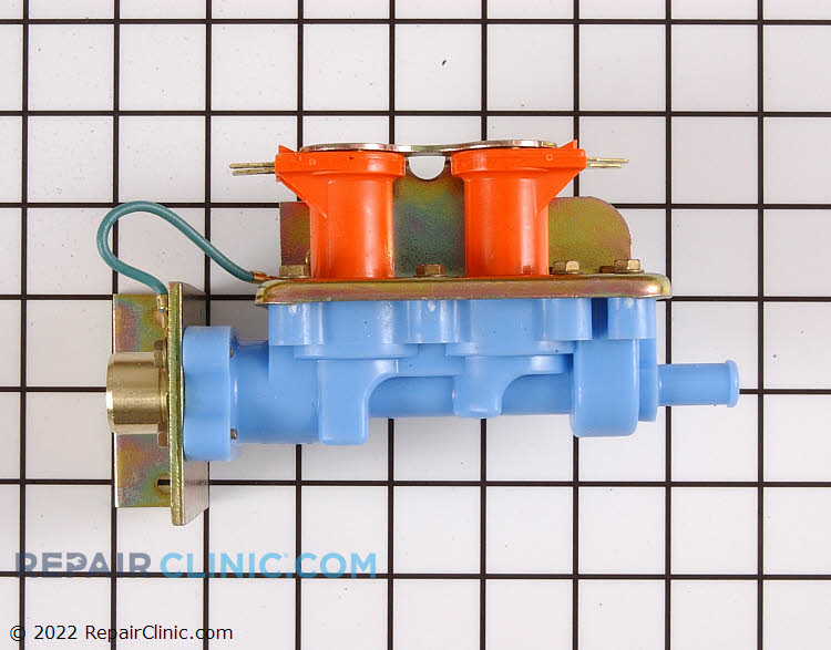 Dual coil water inlet valve