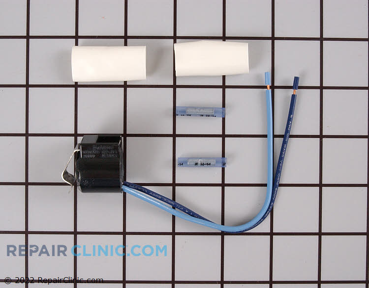 Refrigerator defrost thermostat kit. The defrost thermostat monitors the temperature of the evaporator coils. When the coils drop below a set temperature, the thermostat sends power to the defrost heater. If the defrost thermostat is defective, the refrigerator will not defrost.