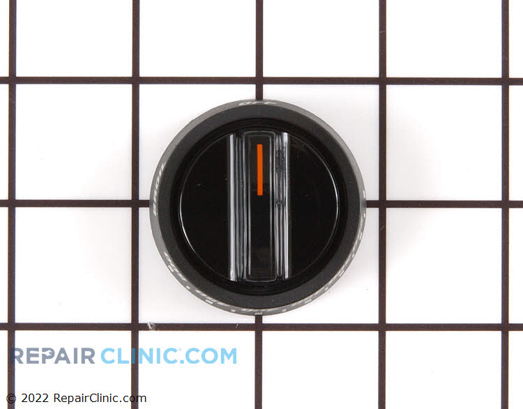 Thermostat knob, black