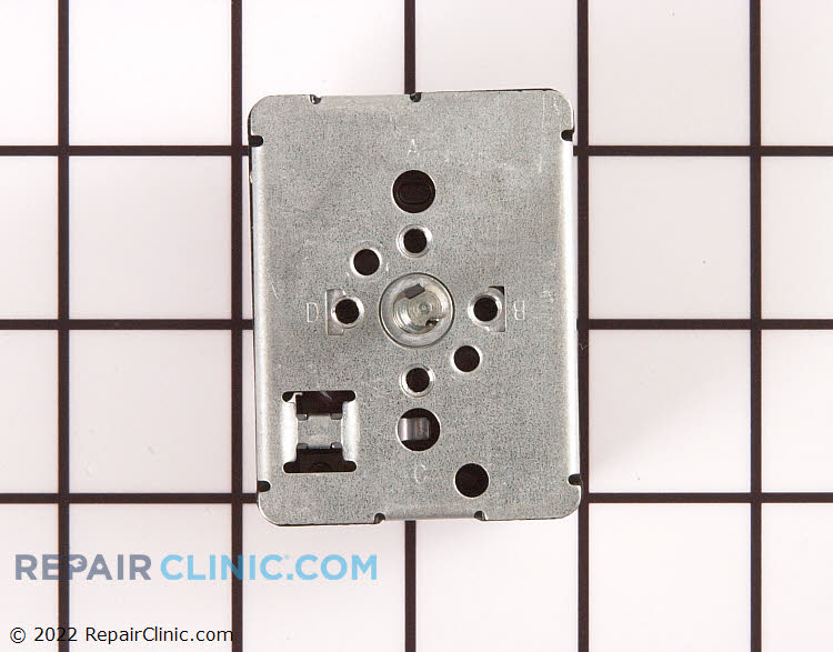 Surface element infinite control switch for 6 inch burner