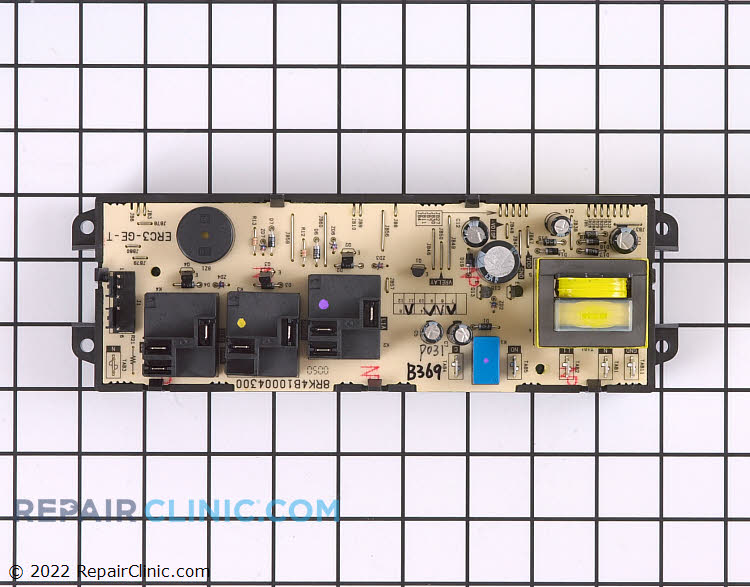 Oven Control Board WB50K5013 Alternate Product View