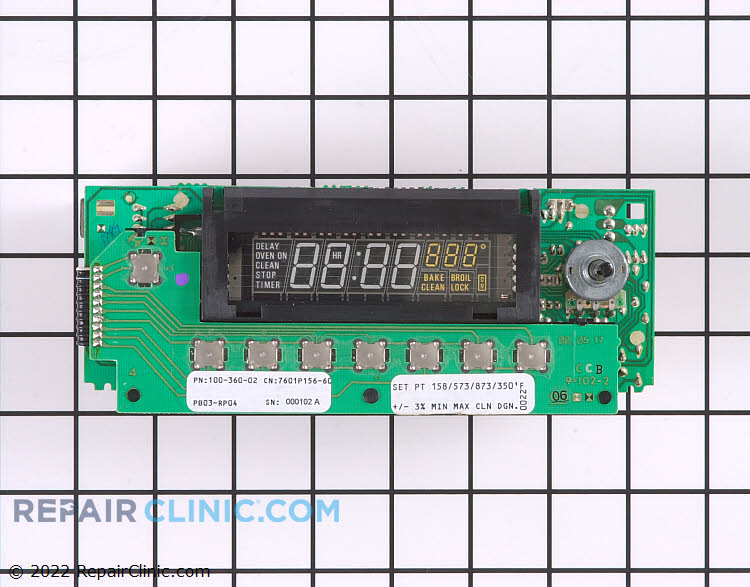 Oven Control Board 7601P156-60 Alternate Product View