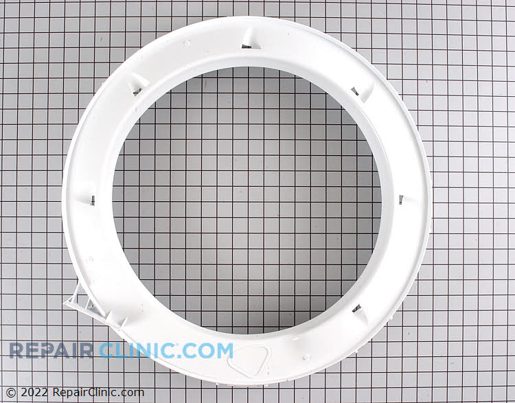 Washing machine tub cover and gasket assembly