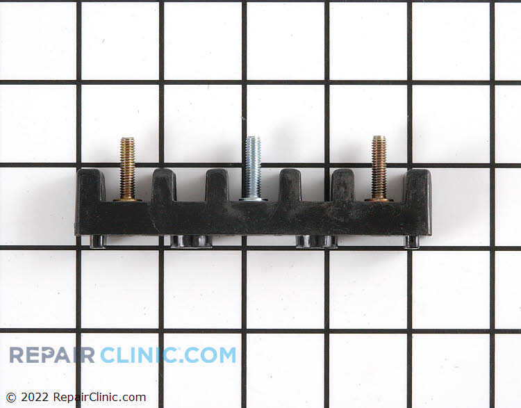 Terminal block kit for electric range and dryer power cords.