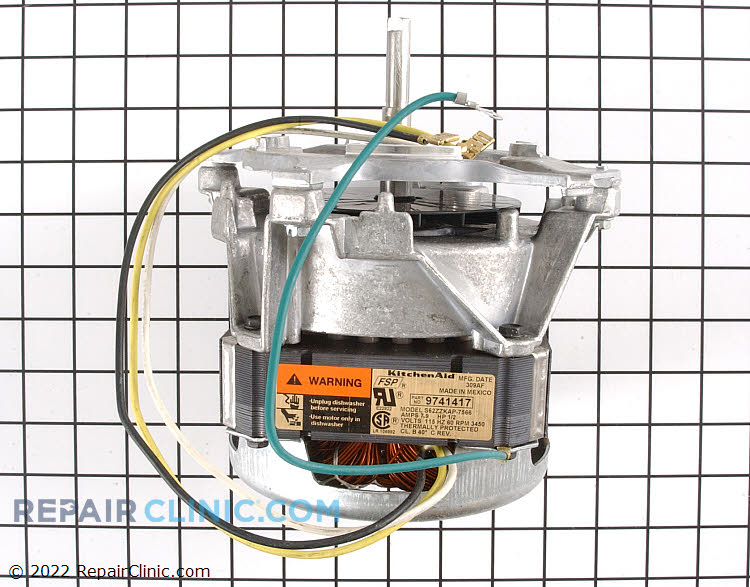 Circulation and Drain Pump Motor 4171907         Alternate Product View