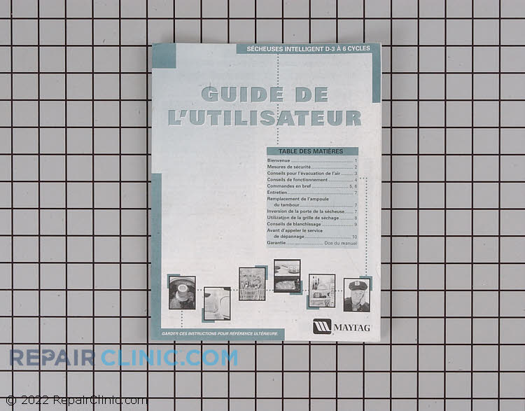 Manuals, Care Guides & Literature 33001935        Alternate Product View